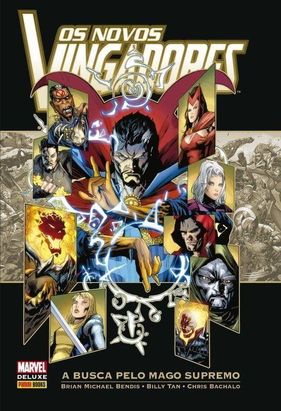 Os Novos Vingadores - A Busca Pelo Mago Supremo - Marvel Deluxe - MonsterBrain