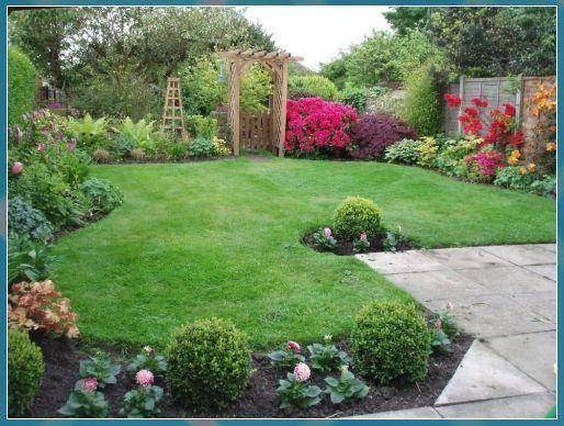 45 Beautiful Border In 2020 Small Garden Landscape Small Backyard Landscaping Patio Garden Ideas Uk