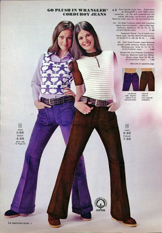 10 Sounds You May Never Hear Again - Corduroy       The classic ribbed fabric still drifts in and out of fashion, but pinwale corduroy bellbottoms of the late '60s and early '70s produced a distinctive rustle that will never be duplicated.