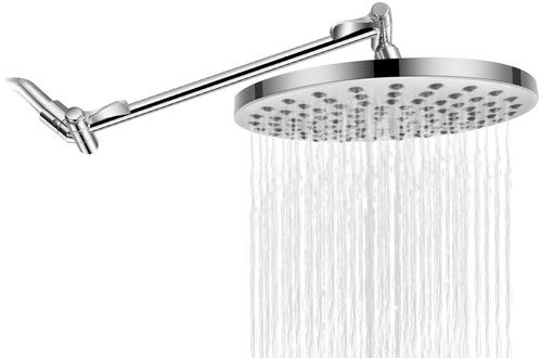 Top 10 Best Ceiling Mounted Rain Shower Heads With Handheld In