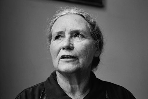 """""""It's amazing what you find out about yourself when you write in the first person about someone very different from you."""" — Doris Lessing"""