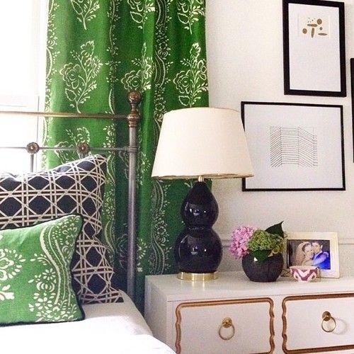 We're dying over this bedroom from @abbyminteriors with @luluandgeorgia Lydia Lamps! #landgathome #luluandgeorgia
