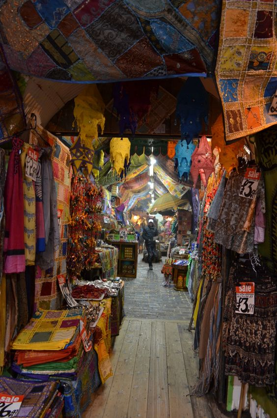 Camden market, London: I have seen Camden market once, but I must see it another time!
