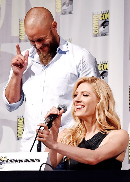 Vikings cast interviewed by IGN at Comic-Con in San Diego