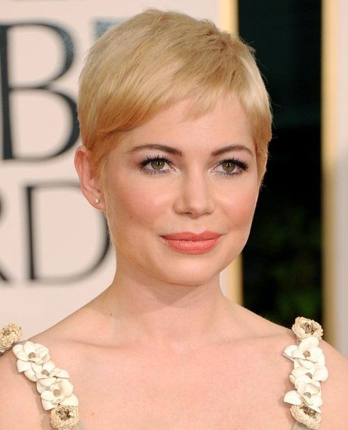Michelle Williams 2011 Golden Globe Awards - Makeup inspiration