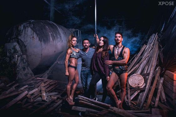 Pole Art Costa Rica Pole Show 2016 Powered by Provocarte Studio. Photo by XPose. PhotoRetouch by Mano de Gato. All rights reserved. #PoleArt #PoleDance #ContemporaryPole #Survivors #RositaCajas #TemplodeAfrodita #ProvocarteStudio