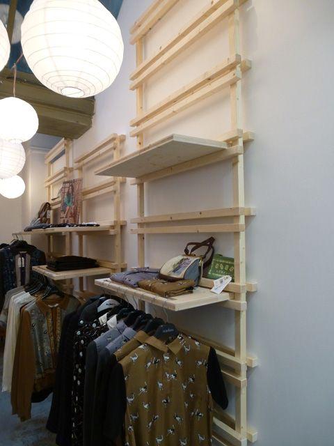 Design et fabrication de l'agencement du magasin Popleen (Lyon presqu'ile).
