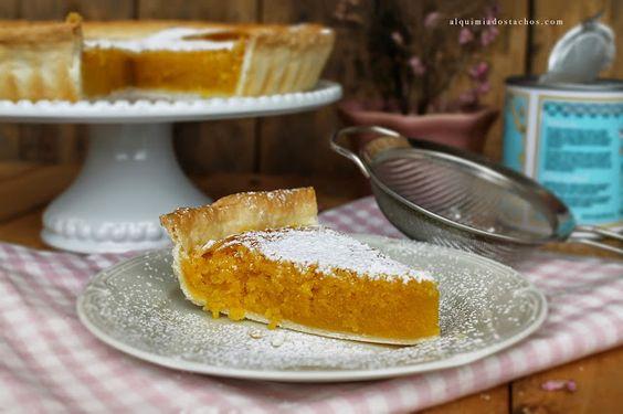 Tarte de grão-de-bico | Chickpea tart
