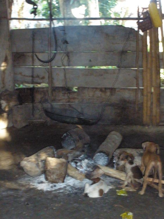 Way to cook in Pintupo Community (Guna Yala ethnic group), Bayano Lake, Panama... More info at: https://www.google.com/search?q=Pintupo+Community&oq=Pintupo+Community&aqs=chrome..69i57.9430j0j4&sourceid=chrome&espv=210&es_sm=93&ie=UTF-8#q=Pintupo+Kuna+Yala+Community+Bayano+Lake&spell=1