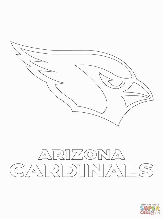 nfl logos coloring pages - Football Coloring Pages Nfl Logos