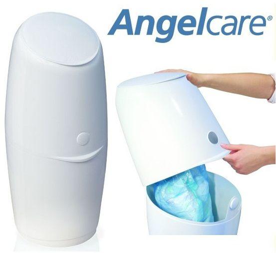 Angelcare Pojemnik Kosz Na Zużyte Pieluchy + Wkład