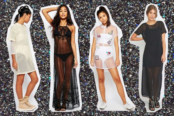10 vestidos transparentes para triunfar esta noche