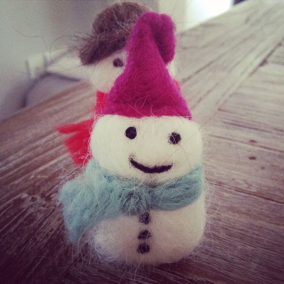 Needlefelted elf