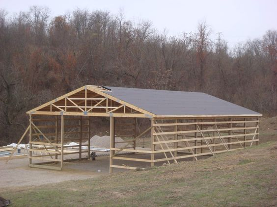 Building and pole buildings on pinterest for 40x60 pole barn