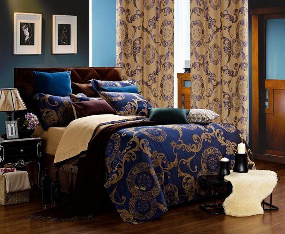 Venus 6-Piece King Set Matching Curtains Sold Seperatly | King ...