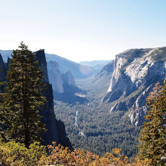 """Something about being in nature puts everything in perspective #Yosemite"""