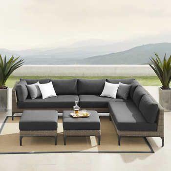 Sirio Aberdeen 5 Piece Seating Set, Sirio Patio Furniture
