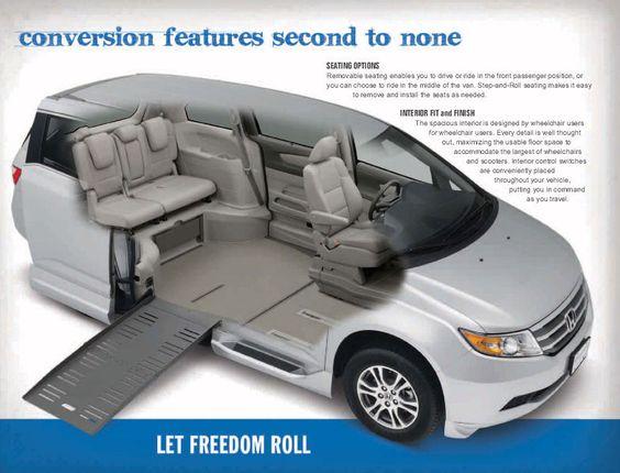 Honda Odyssey Handicapped Conversion Van I would love a ...