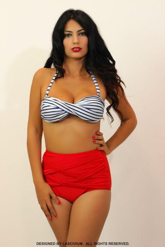 Bikini PinUp Marinero - LENCERIA SECRET