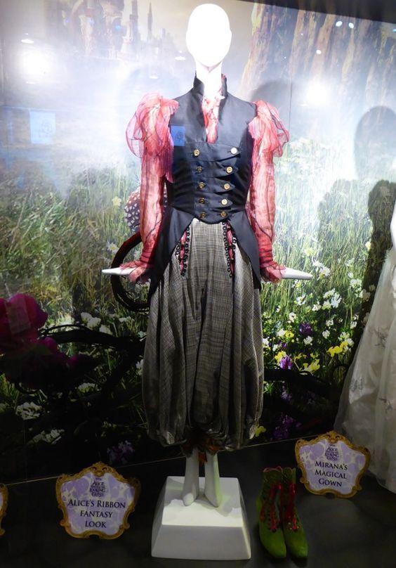 Figurino Alice Atraves Do Espelho Vestido Alice No Pais Das