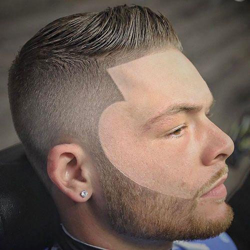 Box Fade With A Beard Design Temp Fade Haircut Fade Haircut Mens Haircuts Fade