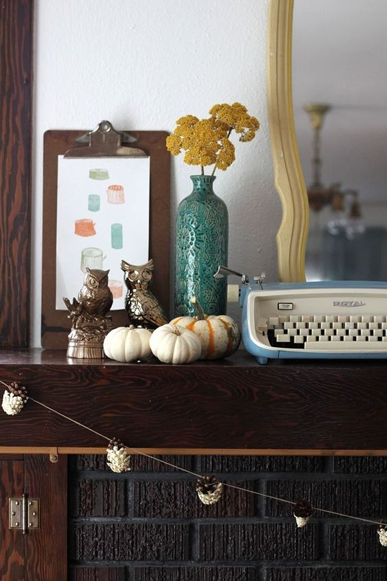 Fall mantle.