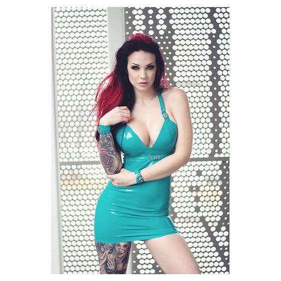 Instagram media by anoukdyonnephotography - Model: @starfuckedmodel  Photo/Retouch: @anoukdyonnephotography  Dress: @ladylucielatex  #latex #latexfashion #latexmodel #fetishmodel #altmodel #fetishfashion #inked #inkedmodels #inkedup #sexy #boobs #anoukdyonnephotography