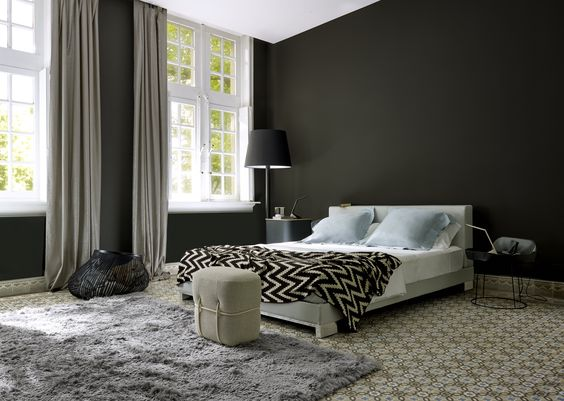 anna bed with tonalities linen zellige zigzag throw lace. Black Bedroom Furniture Sets. Home Design Ideas