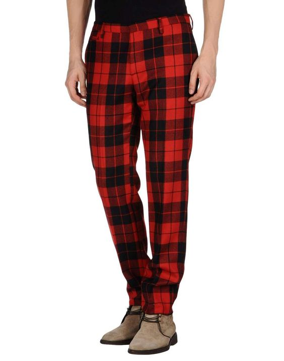 BRIAN DALES Casual pant | Fall Trends for Men - Plaid Squares | mens plaid pants | menswear | mens style | mens fashion | wantering http://www.wantering.com/mens-clothing-item/brian-dales-casual-pant/acdE8/