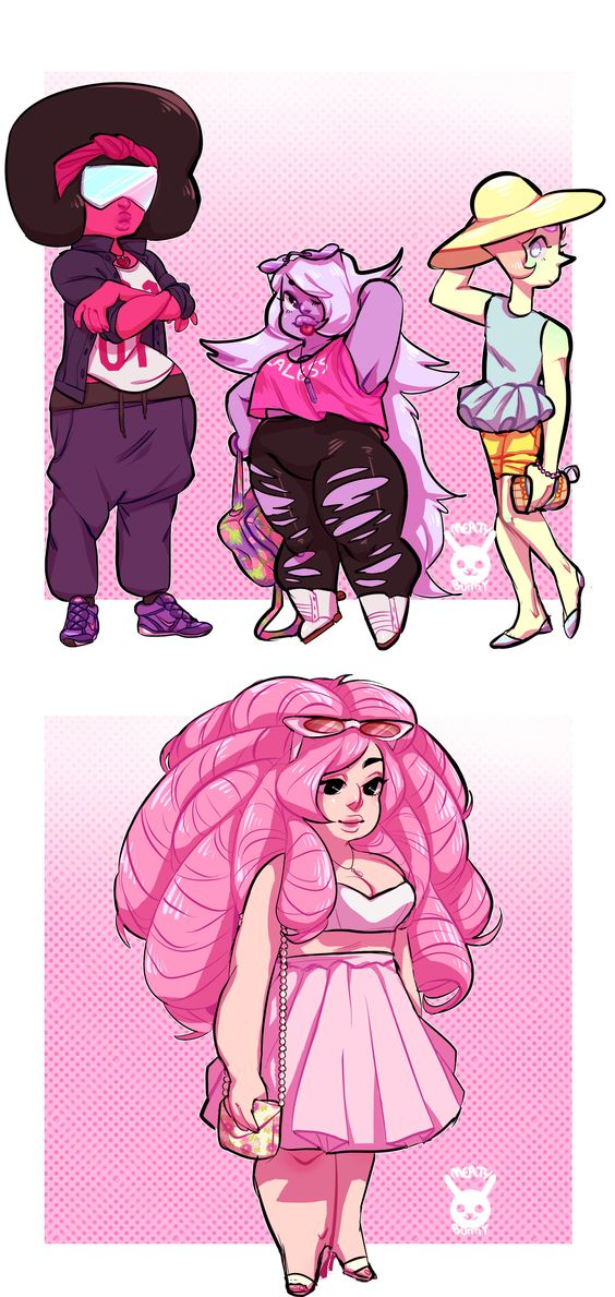 Crystal Gems by MeatyBunny on DeviantArt