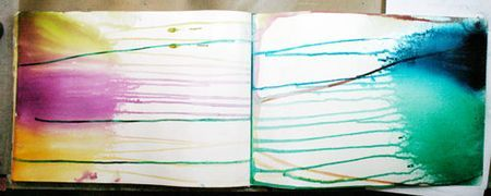 My favorite technique for getting pages started in art journalling several excellent ideas and well explained too.