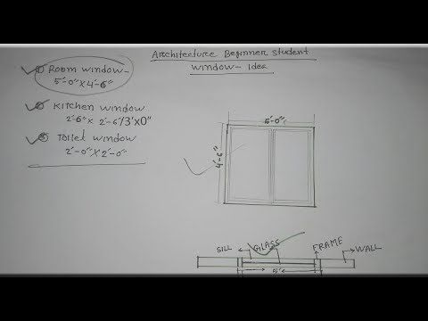 How To Draw Window Plan Elevation With Pencil Youtube Elevation Drawing Autocad Tutorial How To Plan