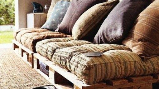 Cómo convertir palets en bonitos muebles para el hogar