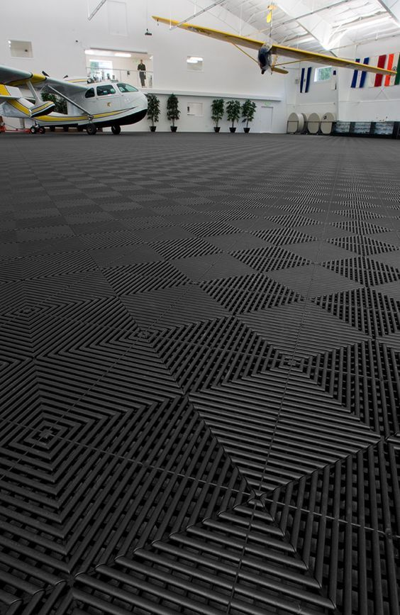 Rubbertrax Swisstrax Recycled Garage Floor Tile Garageflooringllc Com Rubber Garage Flooring Garage Floor Tiles Garage Floor Paint