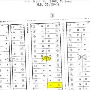 Lot 49 Block H Plat Map