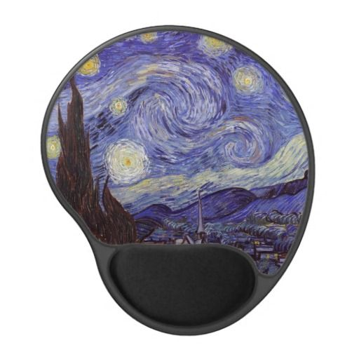Vincent Van Gogh Starry Night Mousepad