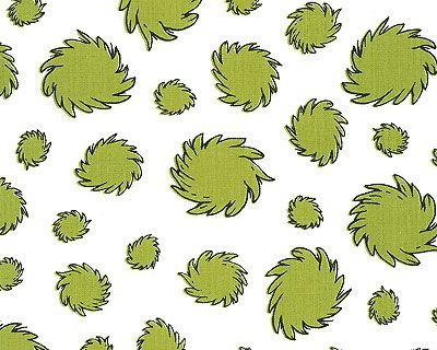 The Lorax - Truffula Treetops - Moss Green - 100% ORGANIC COTTON