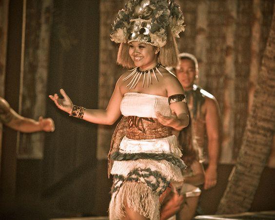 Samoan dancer by Dennis, via Flickr