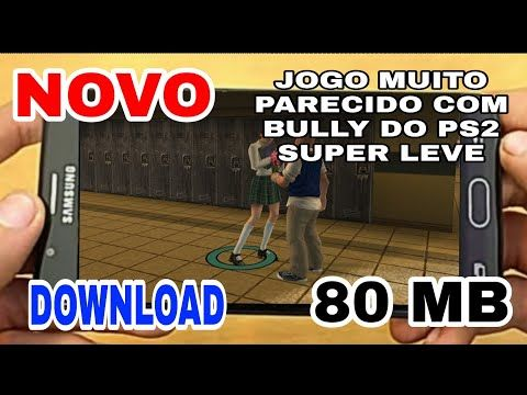 Jogo Parecido Com Bully Para Android Super Leve 80 Mb Gangster
