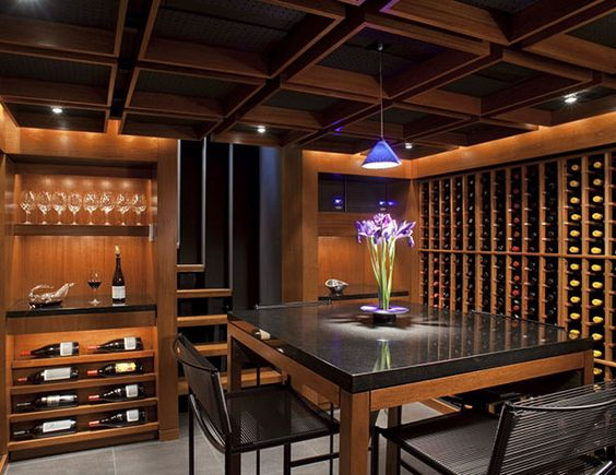 Design Wine Cellar And House Ideas On Pinterest