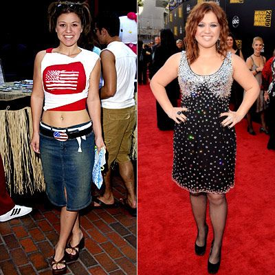 Kelly Clarkson Then And Now Then & Now: Americ...