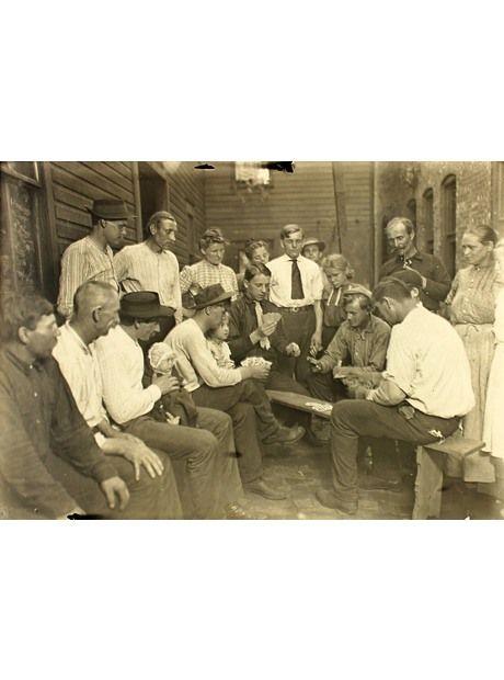 Vintage Lewis Wicks Hine Silver Print, Steel Workers, Homestead PA. 1909.  Pittsburgh ...