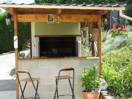 barbecue grande dimension dans cuisine d 39 t en plein air barbecue