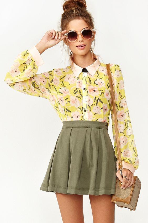 Buttoned up: Rose Petal Blouse #sp