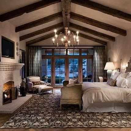 Rustic Master Bedroom Sophie Mogk Real Estate Toronto
