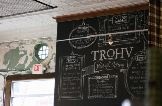 interior signage at my new favorite local shop: TRoHV. photo is my own. (www.trohvshop.com)