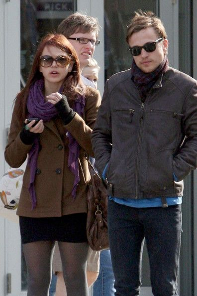 "Aimee Teegarden and William Moseley take a break from filming their TV pilot ""The Selection"" to go see ""The Hunger Games"" together in Vancouver. The pair reportedly said they enjoyed the film before taking a walk around the city, with Aimee checking a map for directions. - Aimee Teegarden and William Moseley take a break from filming their TV pilot ""The Selection"" to go see ""The Hunger Games"" together in Vancouver"