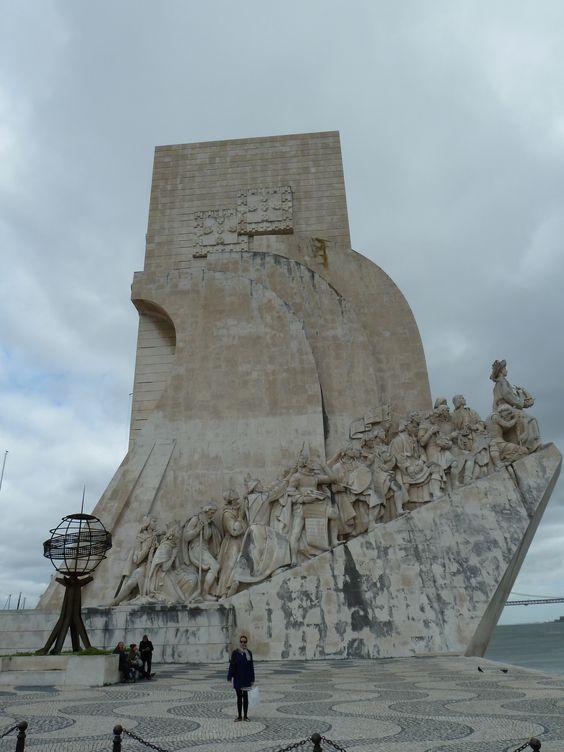 Padrão dos Descobrimentos, a monument dedicated to the portuguese discovieries.