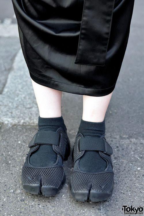 Tabi shoes, Sneakers fashion, Nike fashion