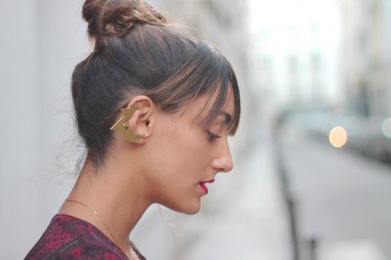Chanael K ear cuff / La revue de Kenza